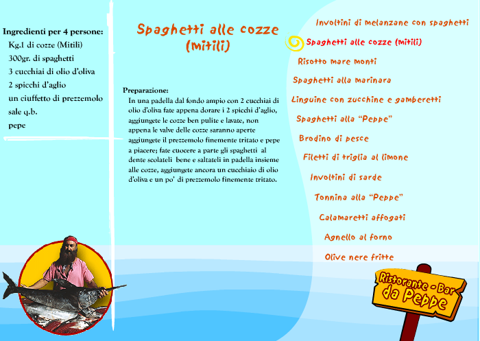Recipes Peppe